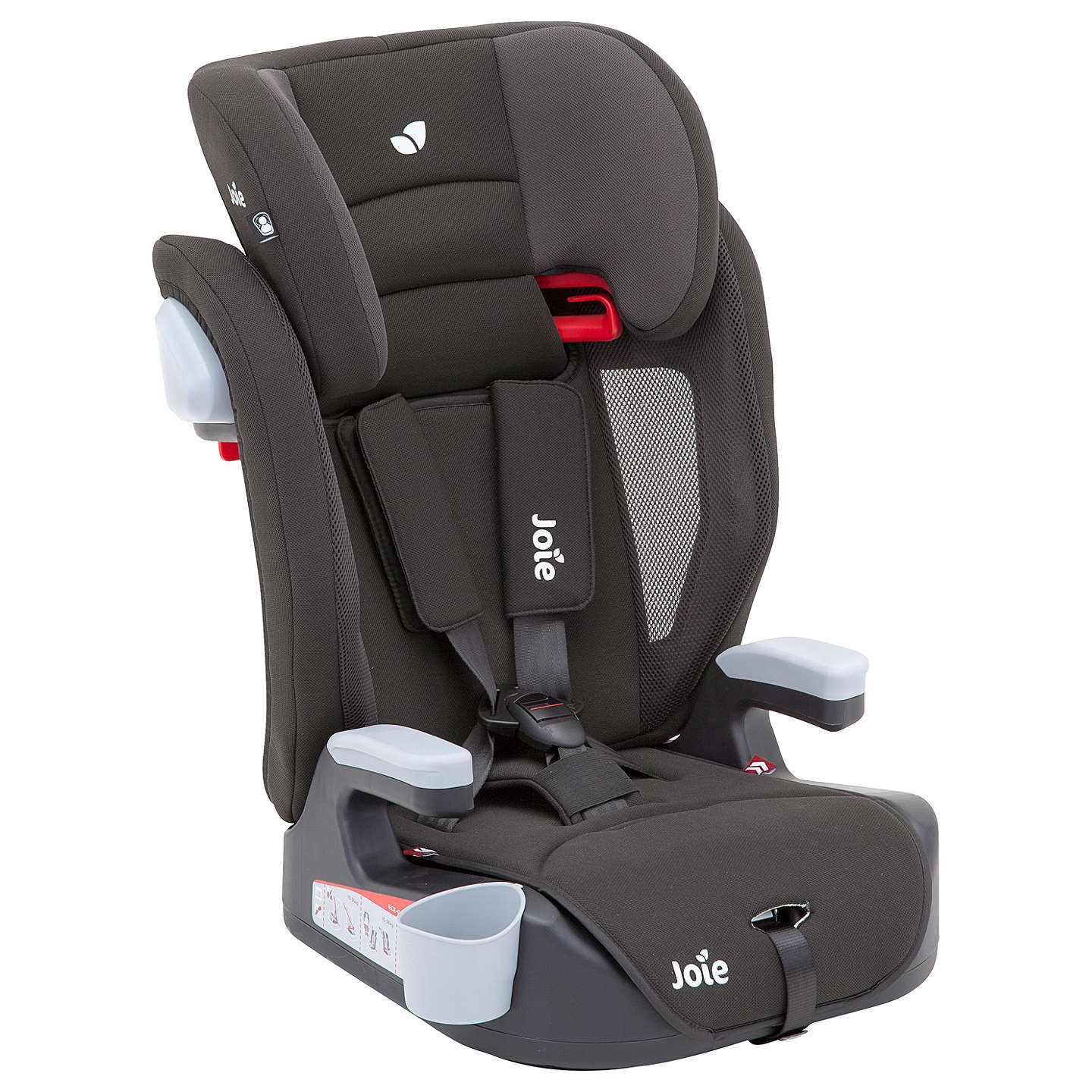 Joie Elevate Group 1/2/3 Car Seat, Two Tone Black at John Lewis