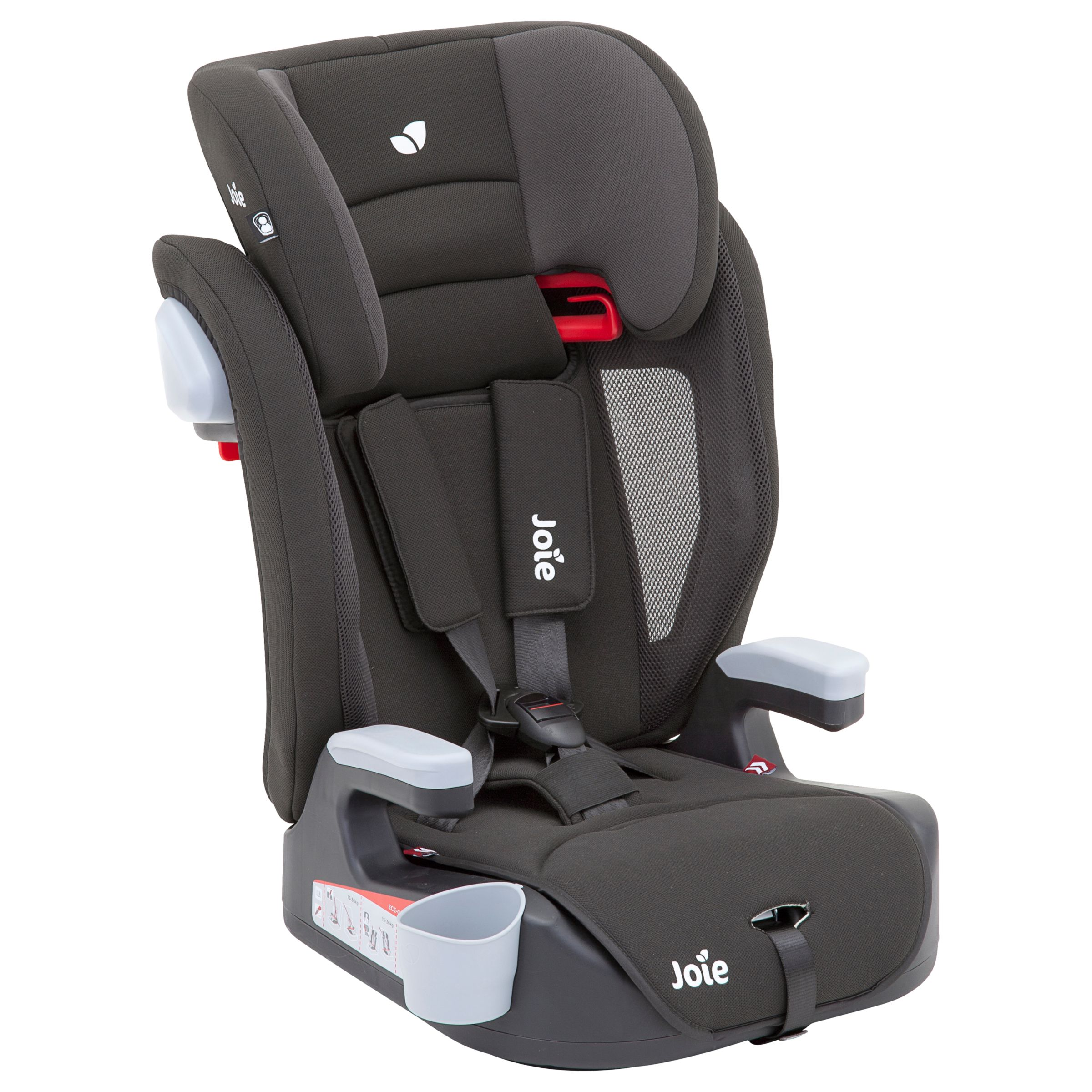 Joie Baby Joie Baby Elevate Group 1/2/3 Car Seat, Two Tone Black