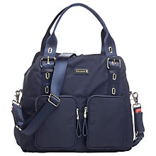 Buy Storksak Alexa Changing Bag, Navy Online at johnlewis.com