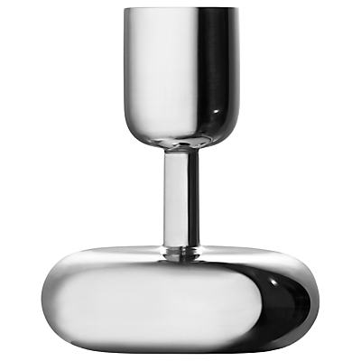 Iittala Nappula Candle Holder, Stainless Steel, Small