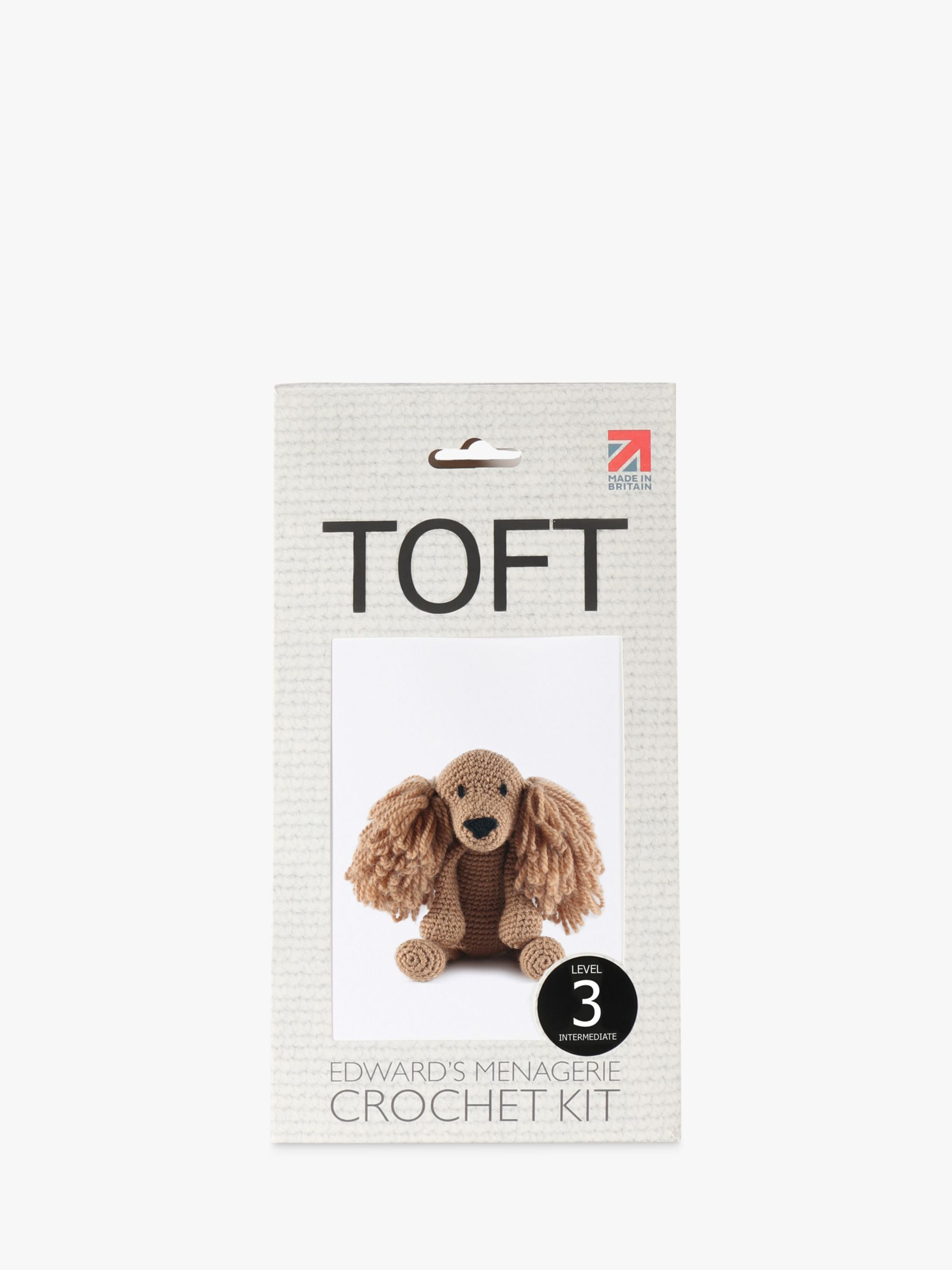 TOFT Saxon The Cocker Spaniel Crochet Kit