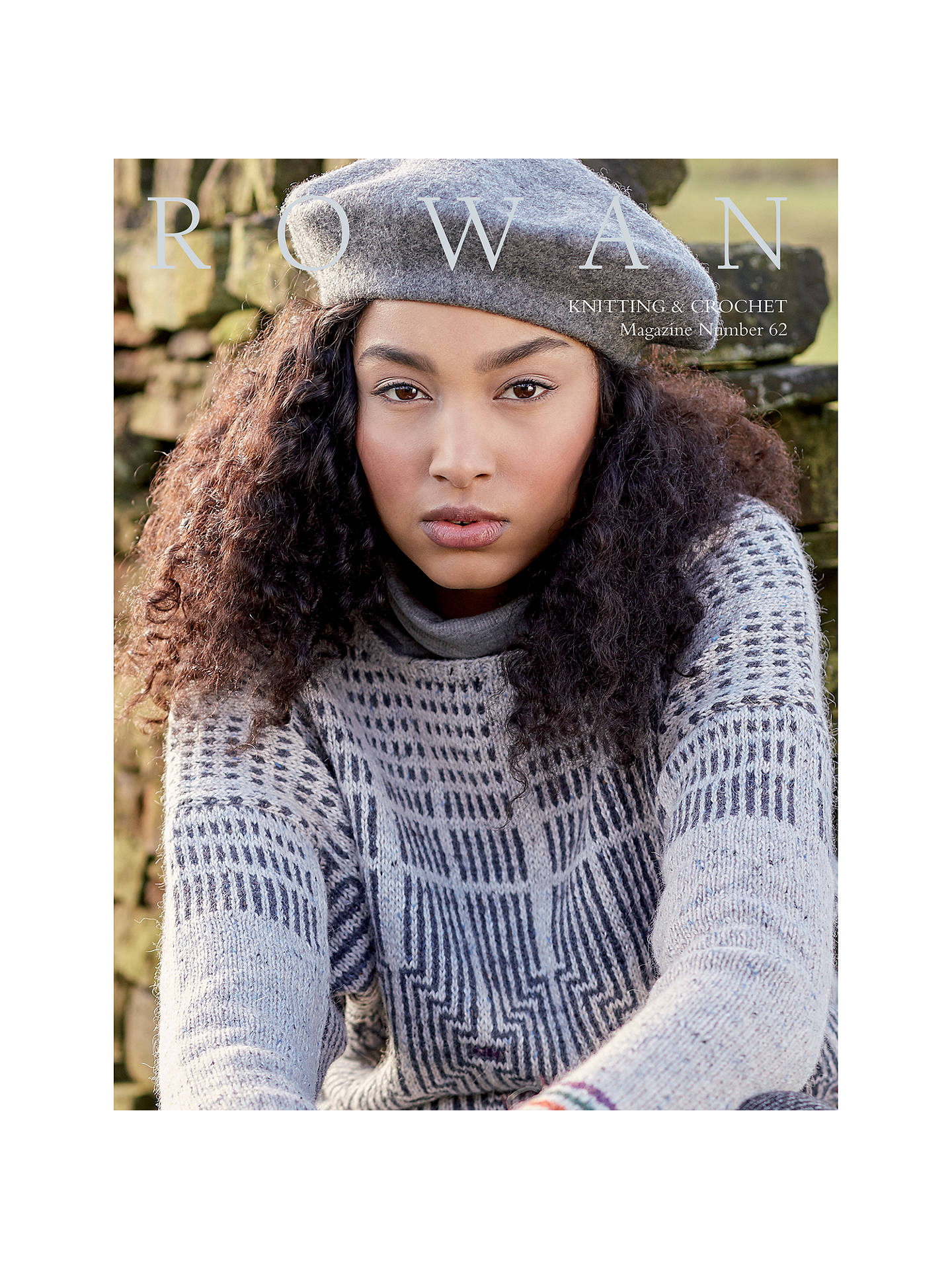 0dca3143d91bf Buy Rowan Knitting and Crochet Magazine 62 Online at johnlewis.com ...