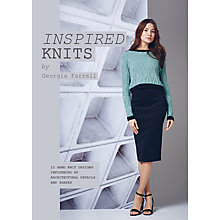 Buy Rowan Inspired Knits by Georgia Farrell Knitting Pattern Book Online at johnlewis.com