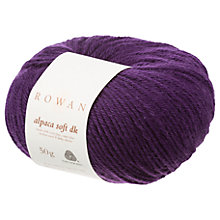 Buy Rowan Alpaca Soft DK Yarn, 50g Online at johnlewis.com