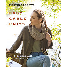 Buy Rowan Easy Cable Knits Pattern Book Online at johnlewis.com