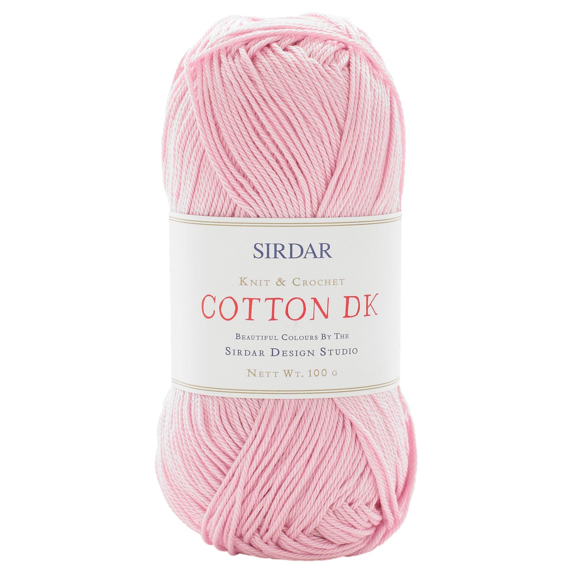 Sirdar Sirdar Cotton DK Yarn, 100g