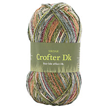 Buy Sirdar Crofter Fair Isle Effect DK Yarn, 50g Online at johnlewis.com