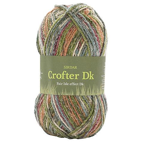 Buy Sirdar Crofter Fair Isle Effect DK Yarn, 50g | John Lewis