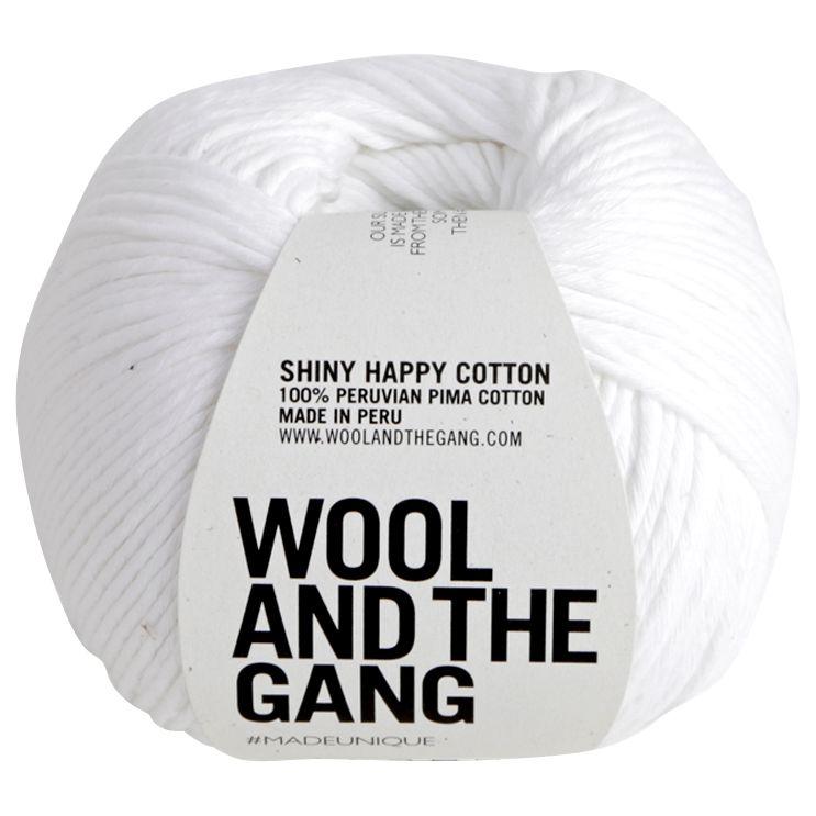 Wool and the Gang Wool And The Gang Shiny Happy Aran Yarn, 100g