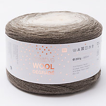 Buy Rico Creative Wool Degrade 4 Ply Yarn, 200g Online at johnlewis.com