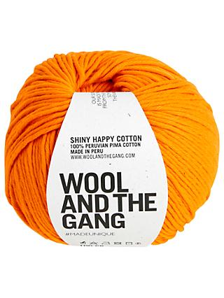Wool And The Gang Shiny Happy Aran Yarn, 100g