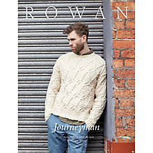 Buy Rowan Journey Man Collection by Martin Storey Knitting Pattern Book ZB220 Online at johnlewis.com