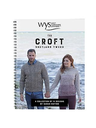West Yorkshire Spinners The Croft Knitting Pattern Book by Sarah Hatton
