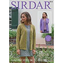 Buy Sirdar Country Style DK Crotchet Pattern, 8018 Online at johnlewis.com