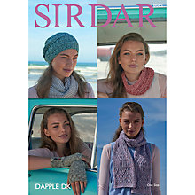 Buy Sirdar Dapple DK Hats and Scarves Pattern, 8065 Online at johnlewis.com