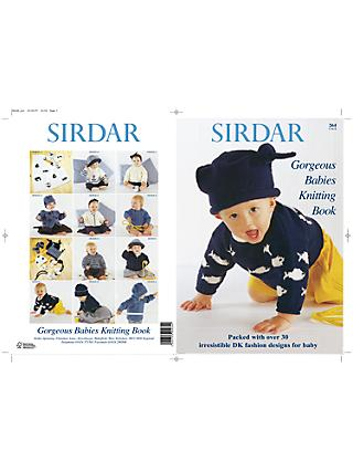 Sirdar Gorgeous Babies Knitting Pattern Book
