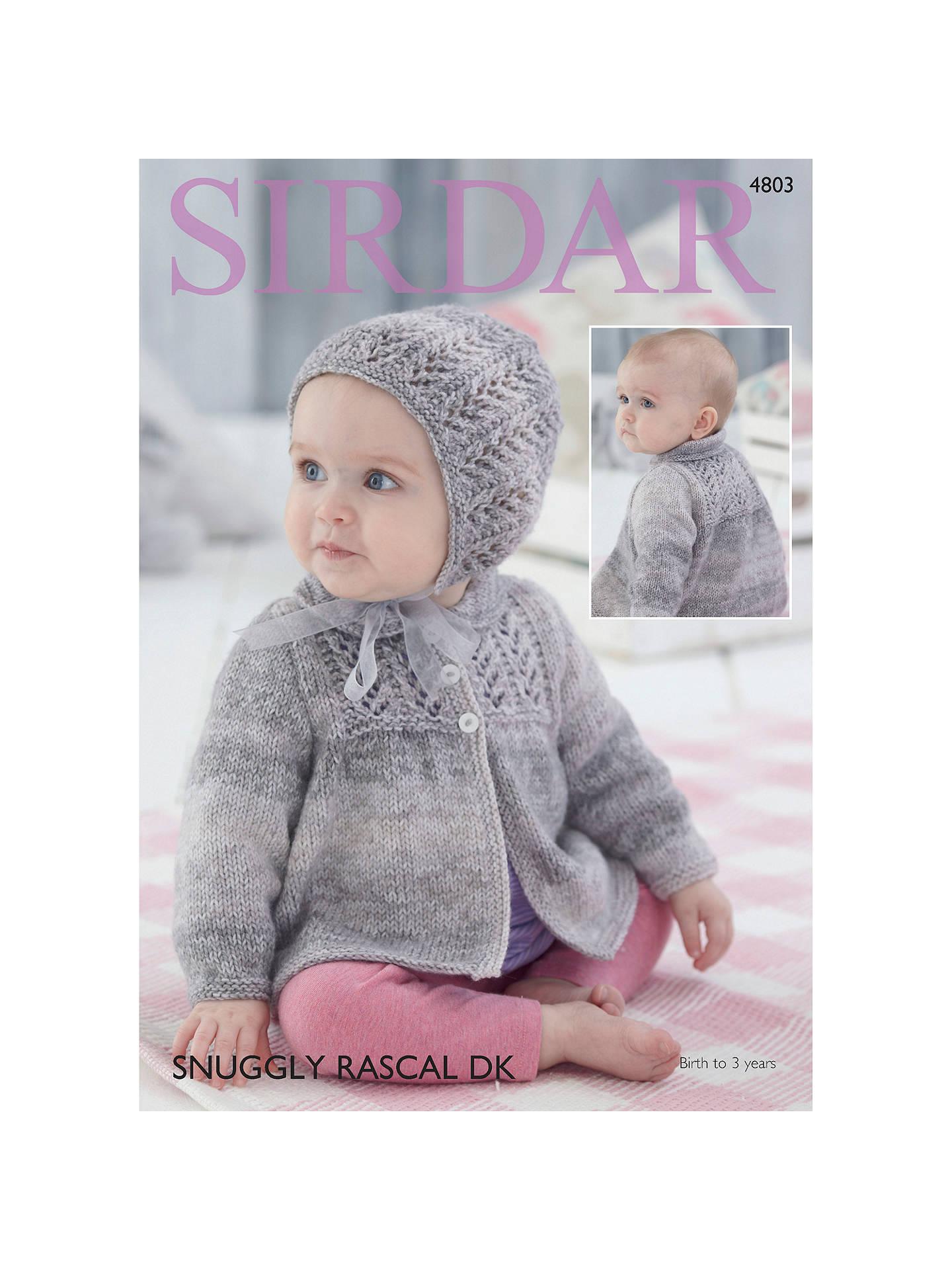 Sirdar Snuggly Baby Rascal DK Knitting Pattern Book, 4803 ...