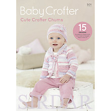 Buy Sirdar Cute Crofter Chums Baby Knitting Patterns, 501 Online at johnlewis.com