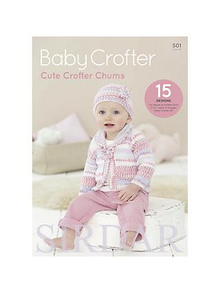 Sirdar Cute Crofter Chums Baby Knitting Patterns, 501