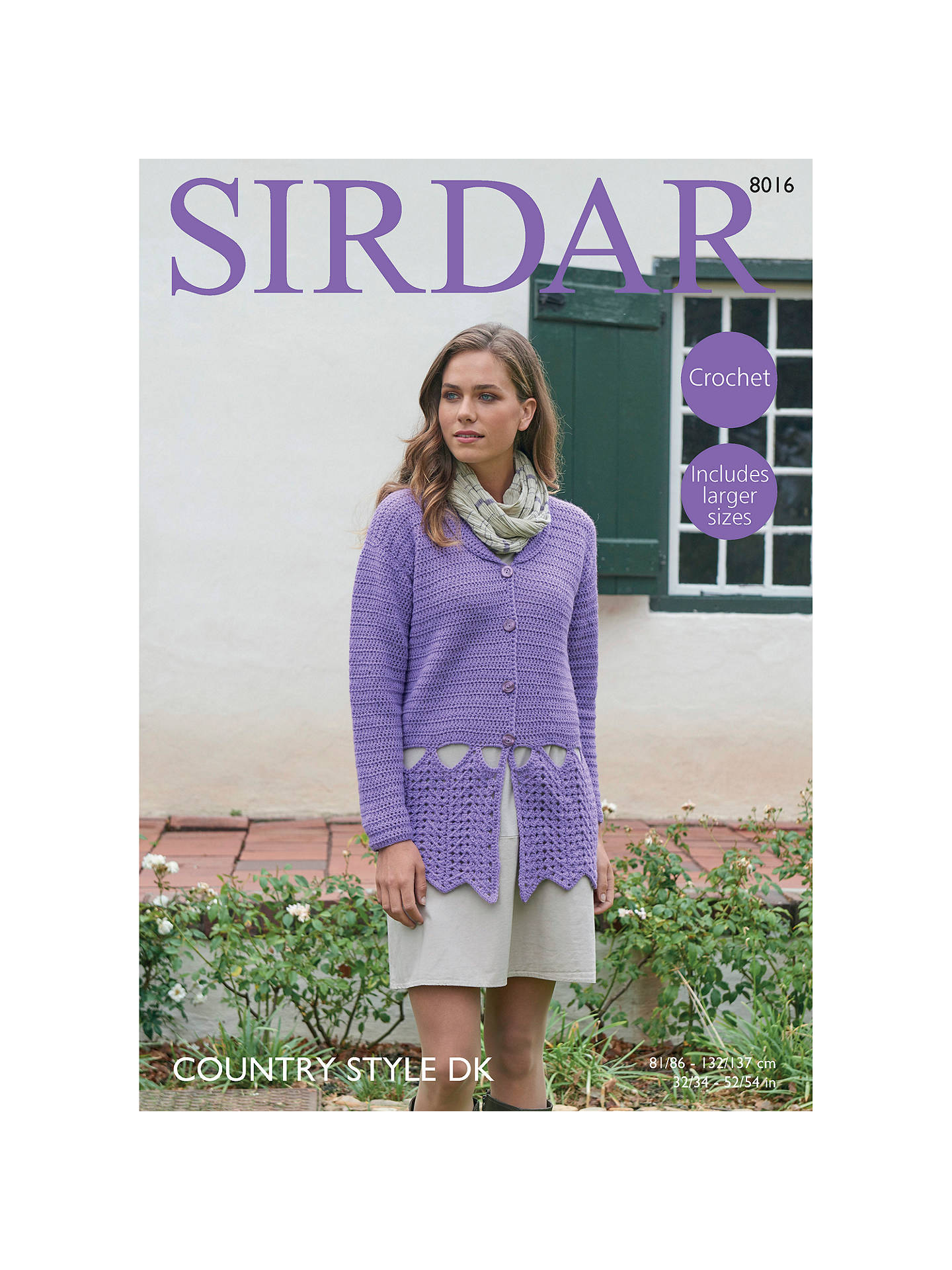 BuySirdar Country Style DK Crotchet Pattern, 8016 Online at johnlewis.com