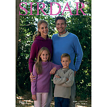 Buy Sirdar No 1 DK Jumper Patterns 8051 Online at johnlewis.com