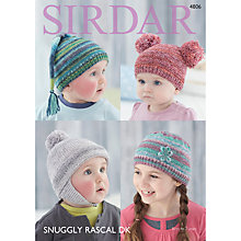 Buy Sirdar Snuggly Baby Rascal DK Knitting Pattern Book, 4806 Online at johnlewis.com