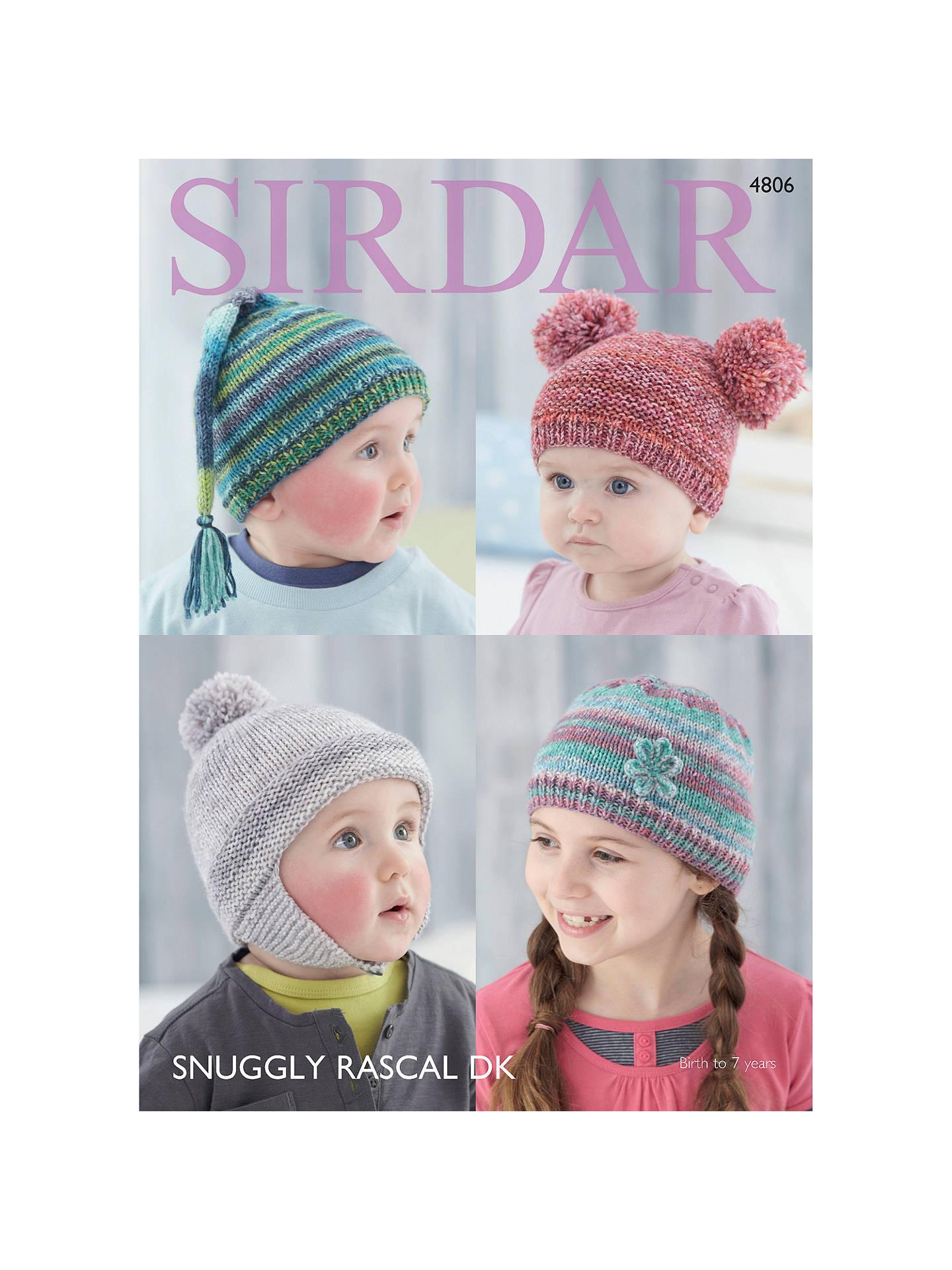 b3a81791ea9 BuySirdar Snuggly Baby Rascal DK Knitting Pattern Book