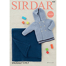 Buy Sirdar Snuggly 4 Ply Crotchet Pattern, 4808 Online at johnlewis.com