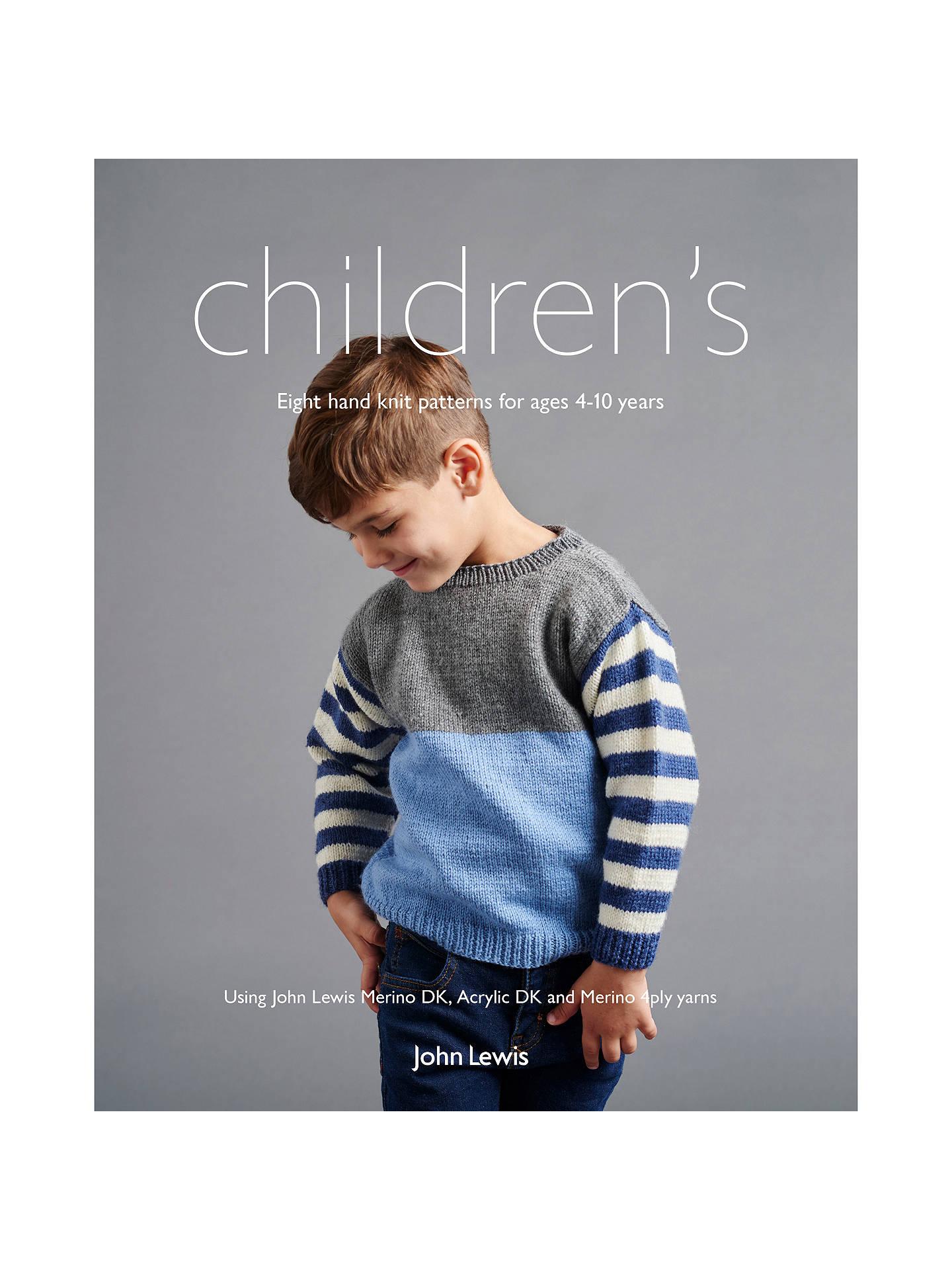 75d7746718b9 John Lewis   Partners Children s Knitting Pattern Book at John Lewis ...