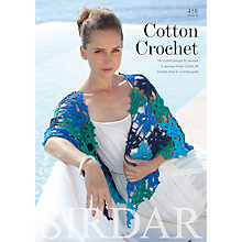 Buy Sirdar Cotton Crochet Women's Pattern Book Online at johnlewis.com