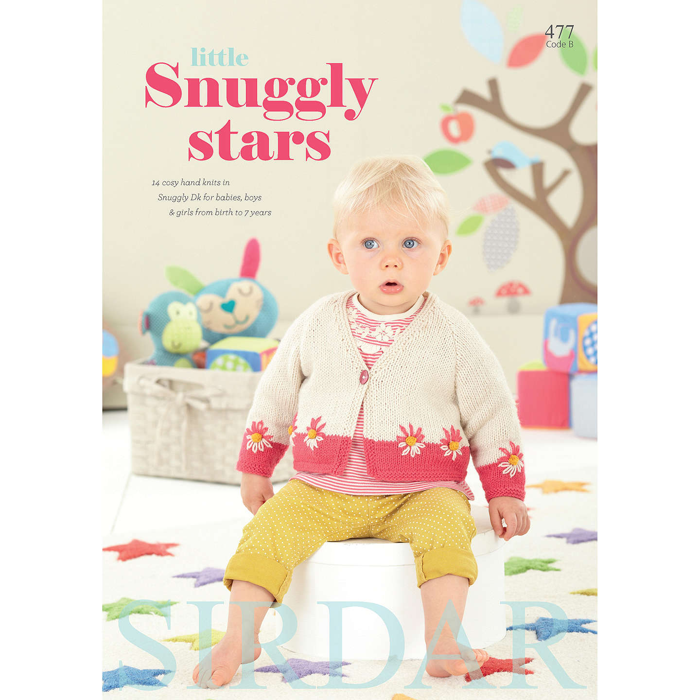 Sirdar Snuggly Baby Bamboo Little Snuggly Star Knitting Pattern Book ...