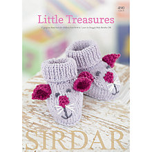 Buy Sirdar Snuggly Baby Bamboo Little Treasures Knitting Pattern Book Online at johnlewis.com