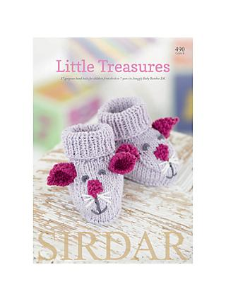 Sirdar Snuggly Baby Bamboo Little Treasures Knitting Pattern Book