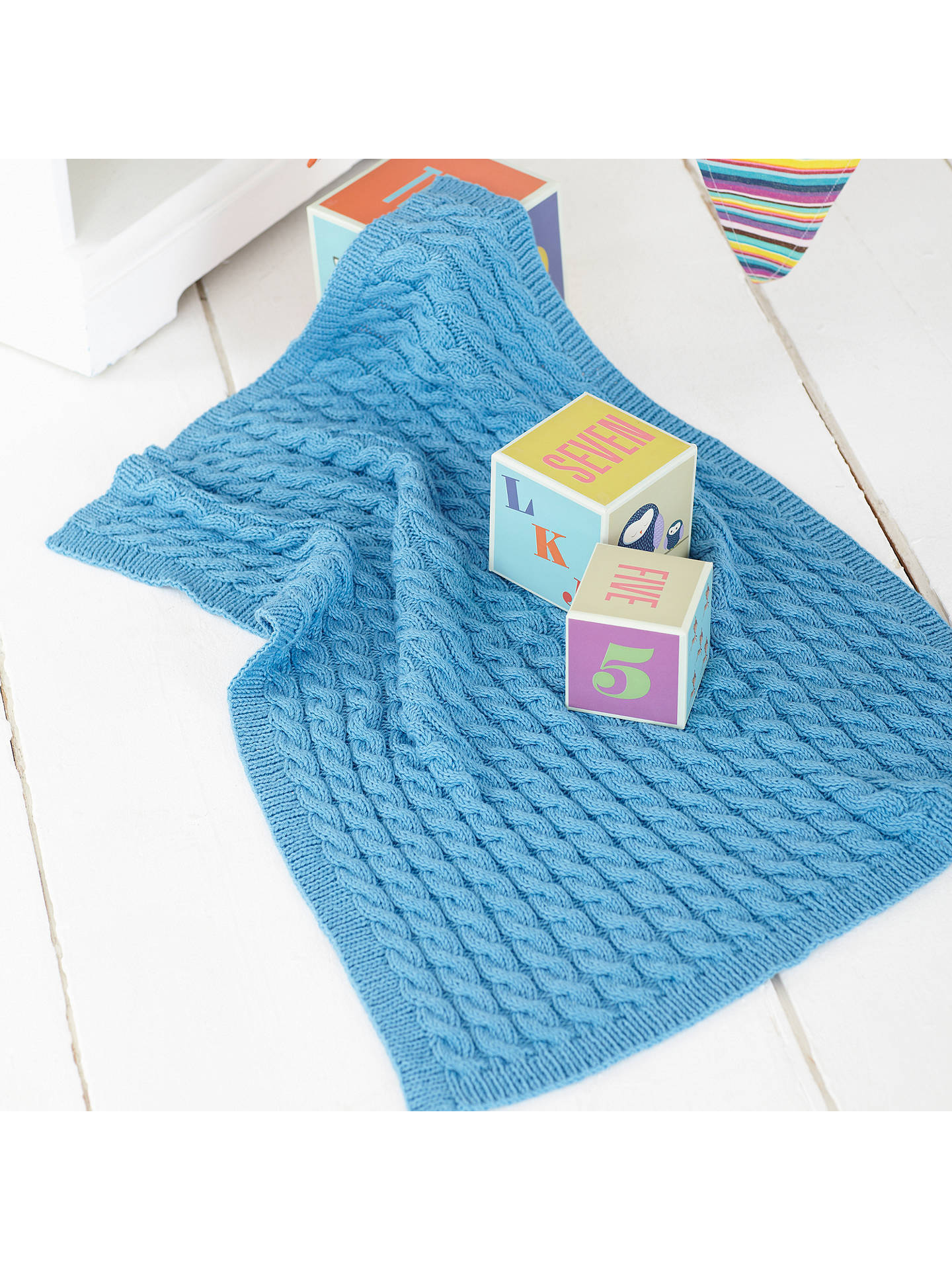 0e1d74e9a ... Buy Sirdar Snuggly Baby Bamboo Little Treasures Knitting Pattern Book  Online at johnlewis.com