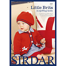 Buy Sirdar Little Brits Spiffing Knits Pattern Book Online at johnlewis.com