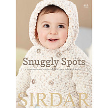 Buy Sirdar Snuggly Snuggly Spots DK Pattern Brochure 485 Online at johnlewis.com