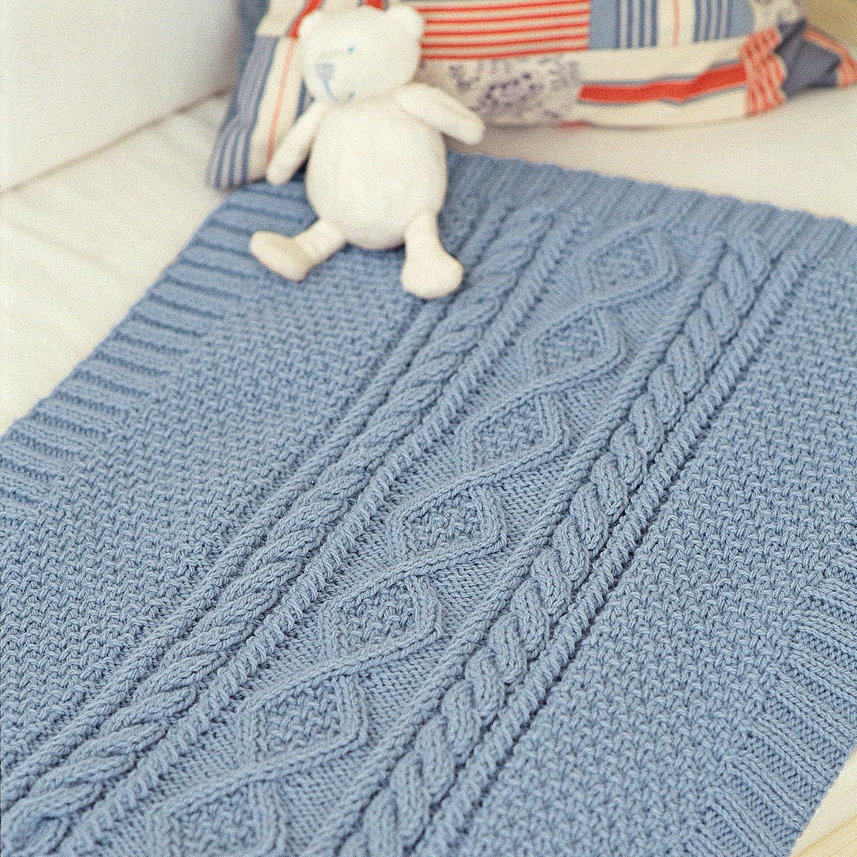 Sirdar The Baby Blanket Knitting Pattern Book at John Lewis