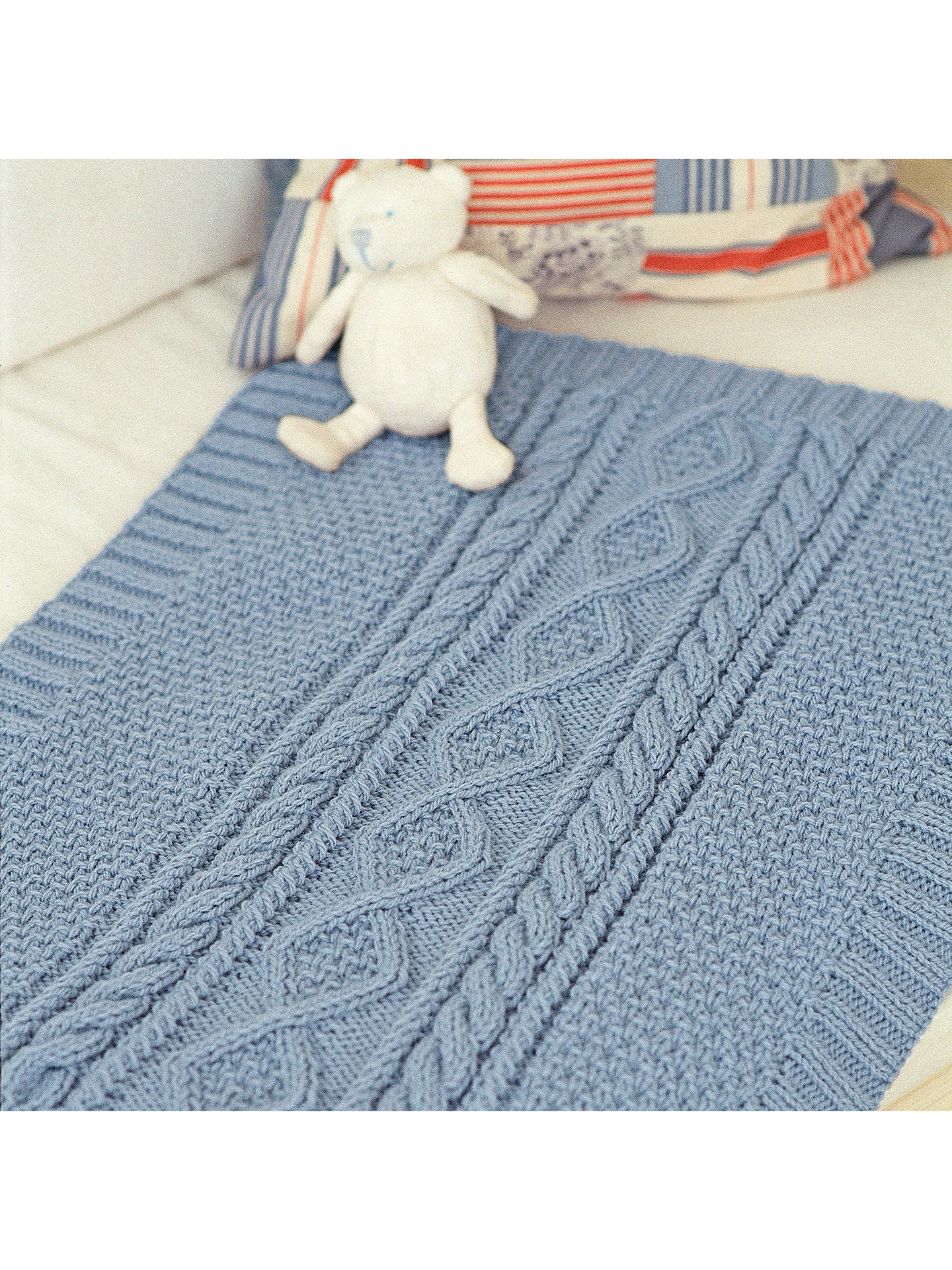 e3b3d79d3 Sirdar The Baby Blanket Knitting Pattern Book at John Lewis   Partners