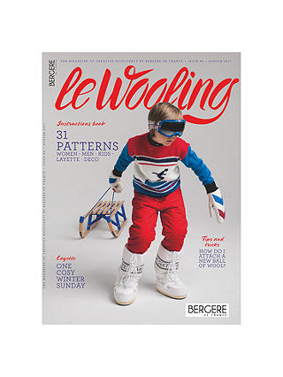 Buy Bergere De France Le Wooling 3 Knitting Pattern Mini Magazine Online at johnlewis.com