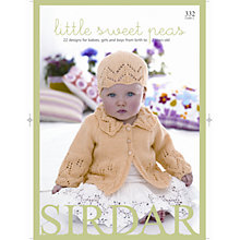 Buy Sirdar Snuggly Baby Bamboo Little Sweet Peas Knitting Pattern Book Online at johnlewis.com