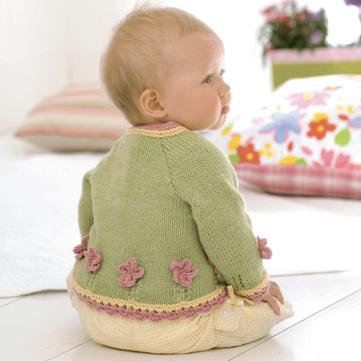 Sirdar Snuggly Baby Bamboo Little Sweet Peas Knitting Pattern Book ...