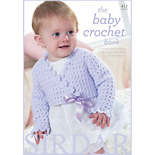 Buy Sirdar The Baby Crotchet Knitting Pattern Book Online at johnlewis.com