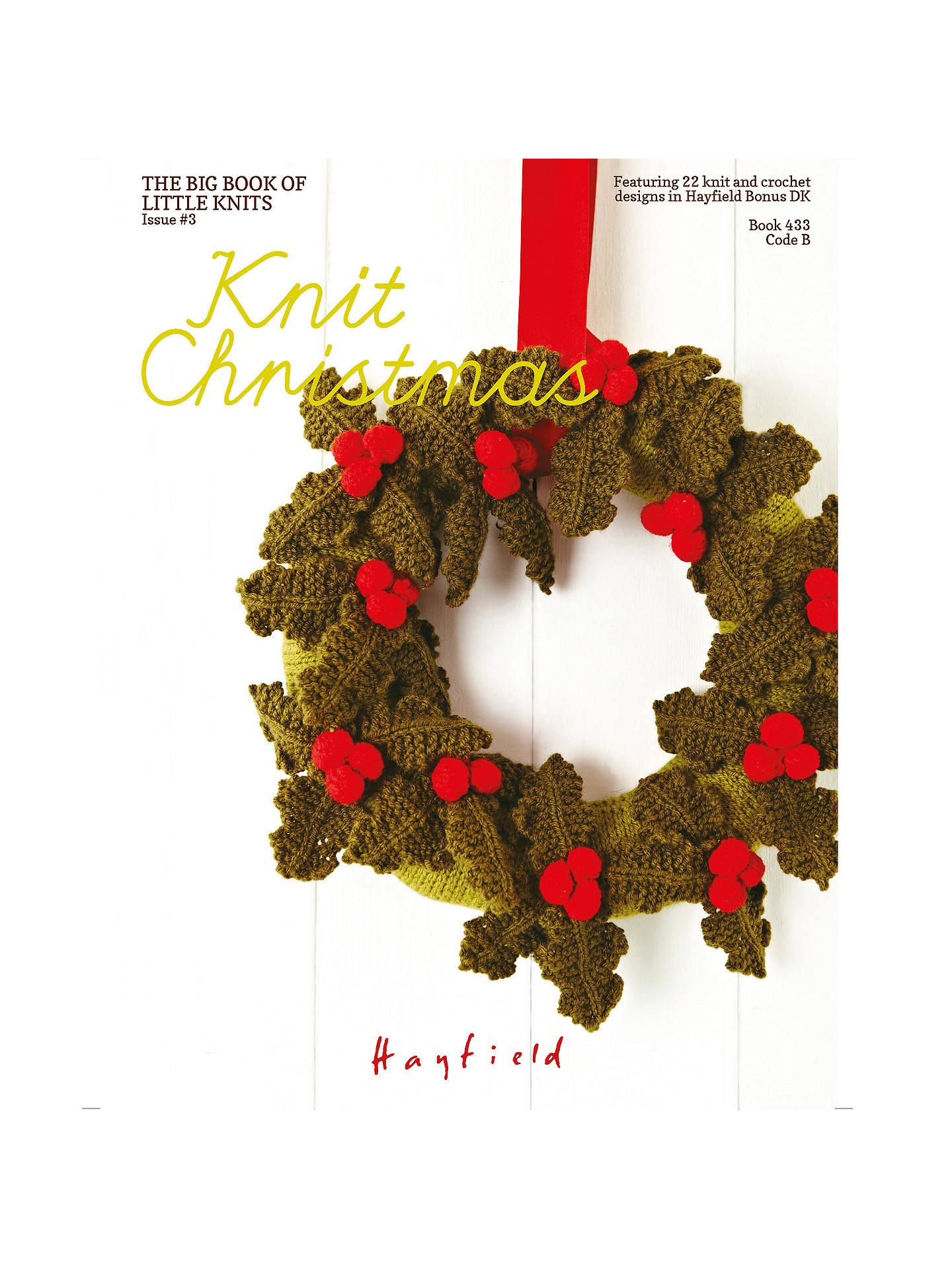 Sirdar Knit Christmas Pattern Book at John Lewis & Partners
