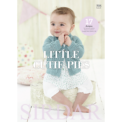 Image of Sirdar Snuggly Baby Bamboo Little Cutie Pies Knitting Pattern Book