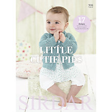 Buy Sirdar Snuggly Baby Bamboo Little Cutie Pies Knitting Pattern Book Online at johnlewis.com