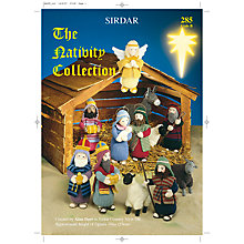Buy Sirdar The Nativity Collection Knitting Pattern Book Online at johnlewis.com