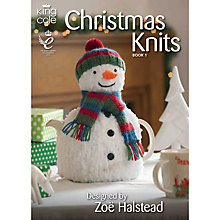 Buy King Cole Christmas Knits Book One by Zoe Halstead Online at johnlewis.com