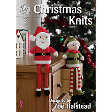 Buy King Cole Christmas Knits Book Four by Zoe Halstead Online at johnlewis.com