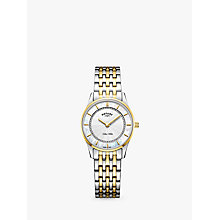 Buy Rotary Women's Ultra Slim Bracelet Strap Watch Online at johnlewis.com