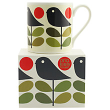 Buy Orla Kiely Christmas Mug, Multi, 400ml Online at johnlewis.com